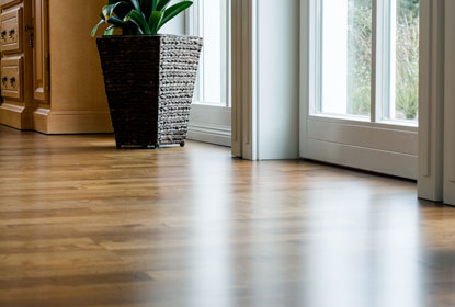 Holzdielen Wohnzimmer