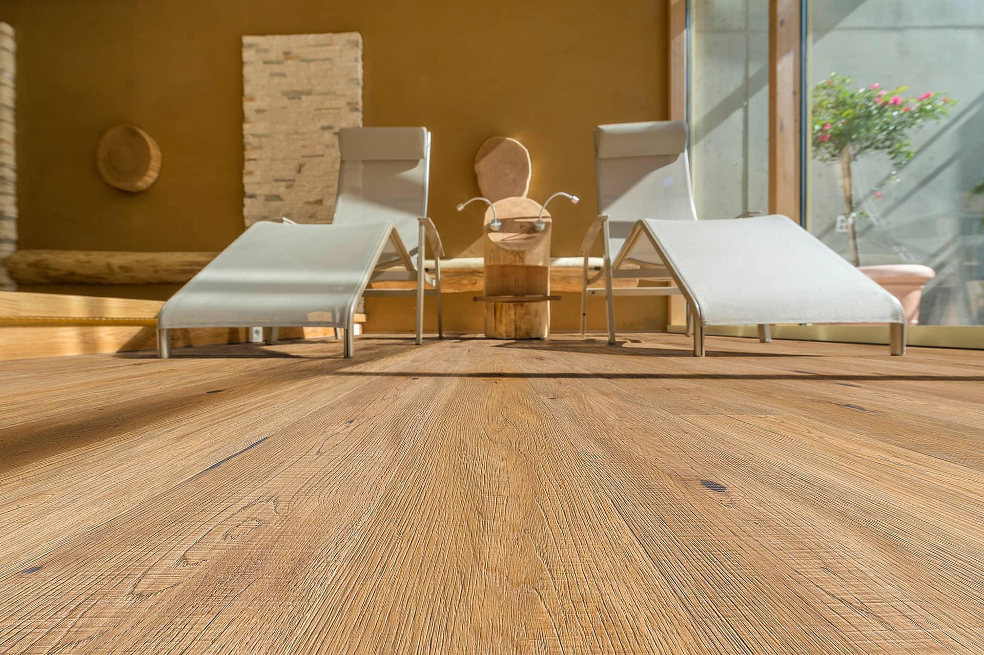 Laminat Bodenbelag hat keinen echten Holzkern