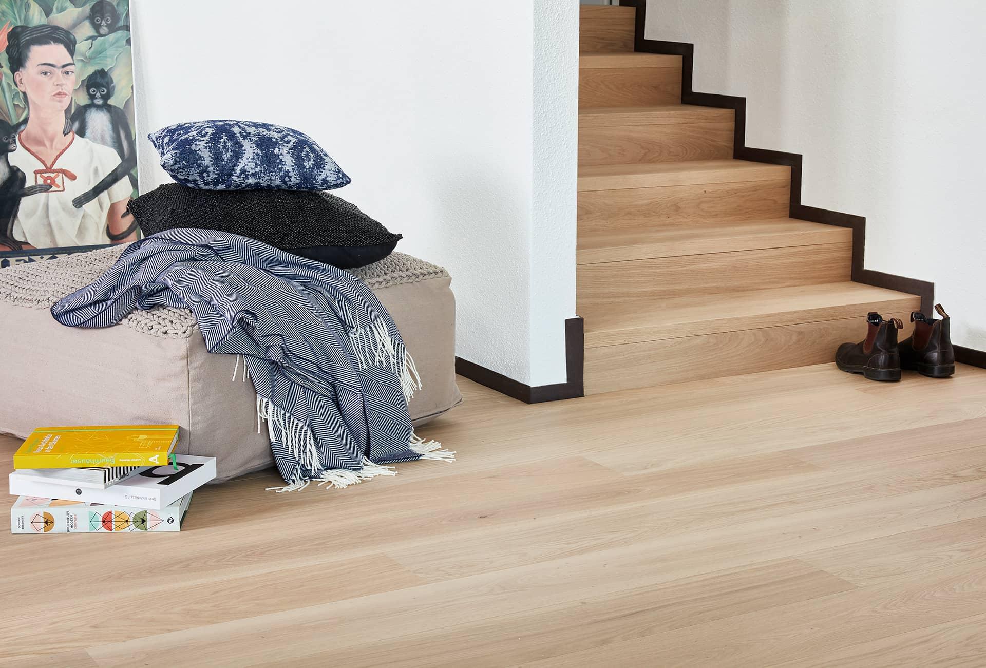 Bodenbelag aus Holz