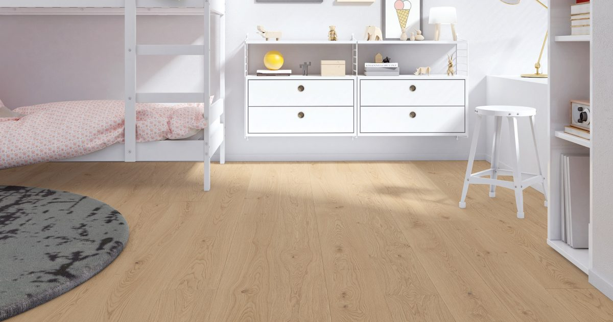 Holzbodenbelag eignet sich als Kinderzimmer Boden