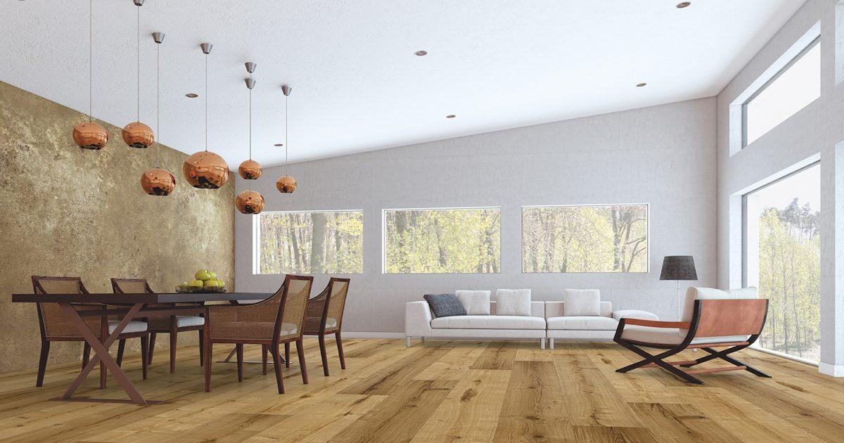 Holzboden ist Bioboden um Längen voraus